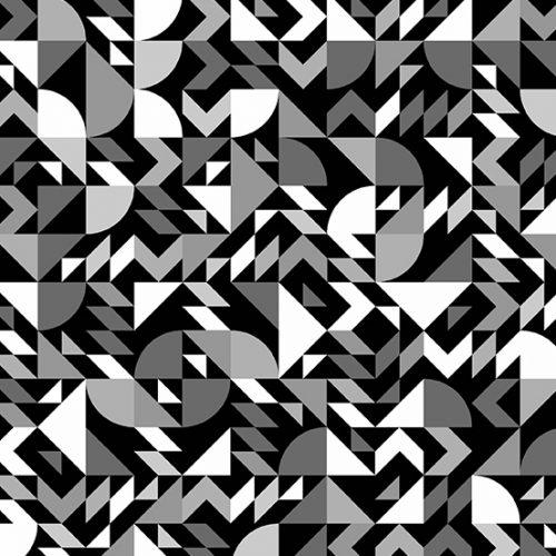 Andover Libs Elliott When Sparks Fly Were Dating Slate 8738-MC - patchwork fabric australia