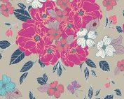 Art Gallery Maureen Cracknell Flower Child Flowery Chant Wild FCD-67150