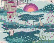 Art Gallery Maureen Cracknell Flower Child Enchanted Meadow FCD-67159 - Patchwork Fabric Australia