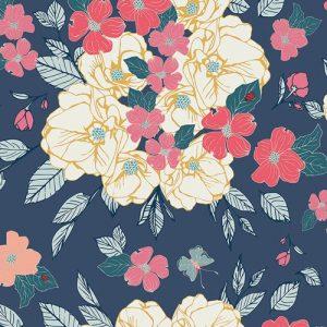 Art Gallery Maureen Cracknell Flower Child Flowery Chant Gentle