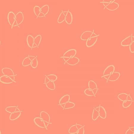 Dear Stella Seaside Carnival Pretzels Bisque SRR933 - Patchwork Fabric Australia