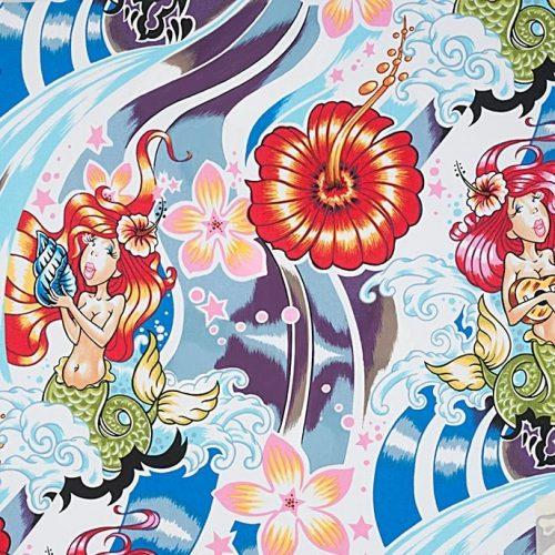 Alexander Henry Nicoles Prints Chula Hula Multi 7556A
